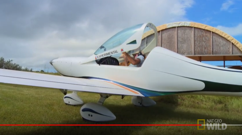 This doctor couldn't see his patients suffer, so he built a plane